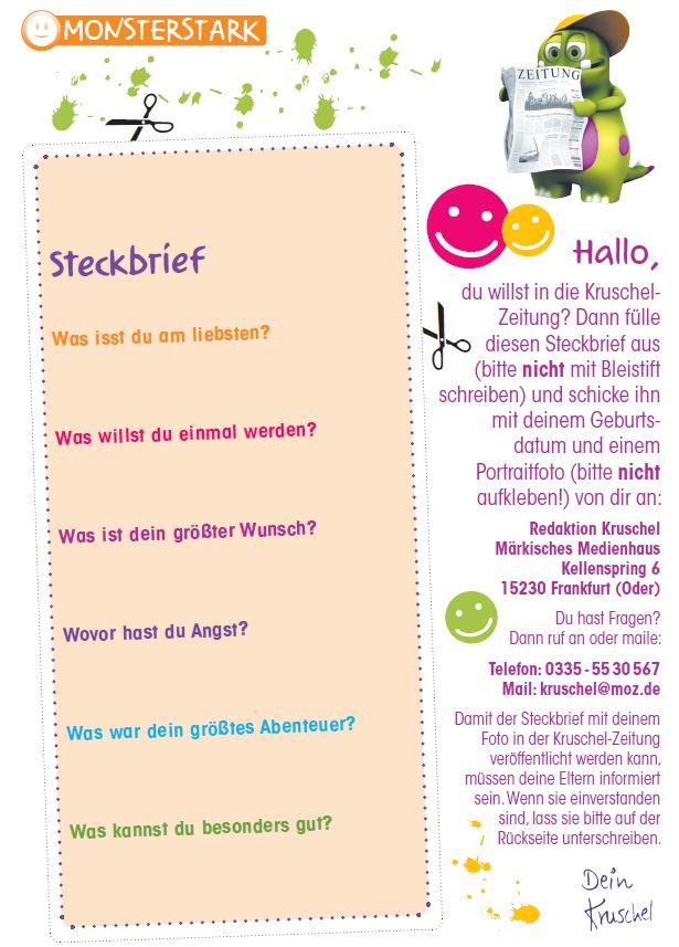 Kruschel Steckbrief